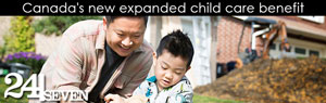 Canada's new expanded child care benefit